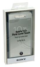 Original Sony estilo funda Táctil sensible protectora para Xperia XZ1 - azul