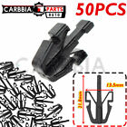 50PCS Grille Retainer Clips 2004-12 Black Plastic For Chevy C Colorado Canyon