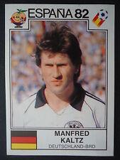 Panini 145 Manfrd Kaltz Deutschland WM 82 World Cup Story