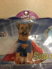Rubies Superman Halloween Pet Costume Large New