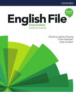 Oxford ENGLISH FILE Intermediate STUDENT'S BOOK Fourth Edition  Online Practice
