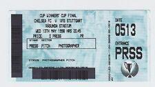 Orig.Ticket   EC 2  1997/98  FINALE   FC CHELSEA - VfB STUTTGART  !!  RARITÄT