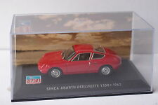 ALTAYA SIMCA ABARTH BERLINETTE 1300 1962 1/43