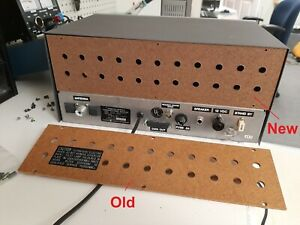 Realistic DX-160 back panel - replacement