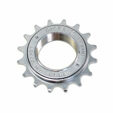 "DICTA Single Speed Fixie, BMX Freewheel  1/2"" x 1/8""  16T , Silver"