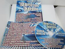 Party Tyme Karaoke - Super Hits 20 [16-song CD+G]
