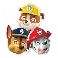 8 mascaras de Carton patrulla canina ideal Cumpleaños Nickelodeon Paw Patrol