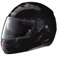 NOLAN N90 CLASSIC N-COM MATT BLACK FLIP UP, MODULAR MOTORCYCLE CRASH HELMET