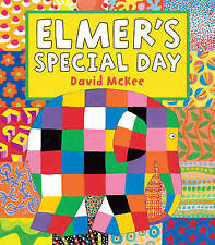 Elmer's Special Day by David McKee - New Picture Book