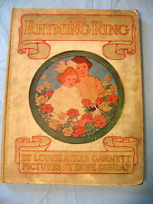 THE RHYMING RING 1910 by Louise Ayres Garnett - 64 pages