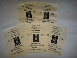 Vietnam Guerre 5 Vc Propagande Leaflets Contre États-Unis Armée 44th Medical