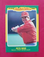 1986 Fleer Limited Edition Baseball #37 PETE ROSE (Gem-Mint) (Reds)  *FREE SHIP*