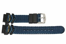 FREESTYLE 18MM BLUE NYLON RUBBER WATERPROOF WATCH BAND STRAP