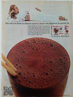 1971 carnation slender weight reducing chocolate diet drink vintage ad