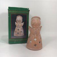 "House Of Lloyd Christmas Around The World Praying Angel Votive Candle Holder 6"""