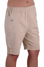 Womens Summer Stretch Cotton Comfort Elasticized Casual Shorts Trousers
