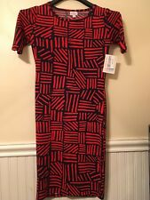 LuLaRoe Julia Dress NWT - XS
