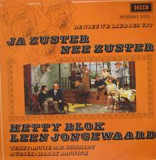 JA ZUSTER,  NEE ZUSTER - NIEUWE LIEDJES UIT  - LP