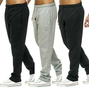 Herren Jogginghose Sporthose Trainingshose Freizeit Jogger Hose Baumwolle Basic