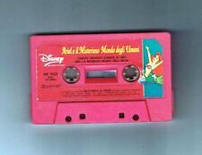 DISNEY - ARIEL E IL MISTERIOSO MONDO DEGLI UOMINI - STORIA MUSICA - 1990  - MC