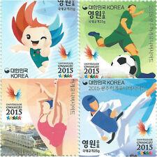 Briefmarken Satz aus Korea