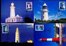 Australia Maximum / Maxi Cards - 2002 Lighthouses