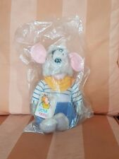 RARE Hasbro Little Reggie Soft Plush Toy 1984 Roland Rat  original sealed bag