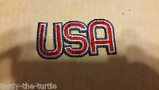Usa Iron On Patch Applique
