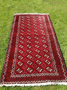 20 th century  meshed Belouch rug gemoetrical design