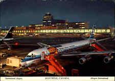 CANADA Kanada MONTREAL International Airport, Flughafen, Flugzeug, AK ~1960/70