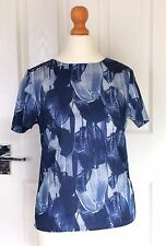 H&M top blue size uk 6 brand new with tags