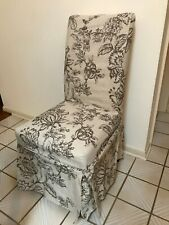 Pier 1 Imports Dana Slipcover for Dana Dining Chair Floral Pattern $16