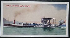 Supermarine Southampton Flying Boat & Tug  Portsmouth   Vintage Card ## VGC