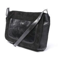 Dsquared Shoulder Bag Black Men's Bag Bag Sac Messenger Leather Bag
