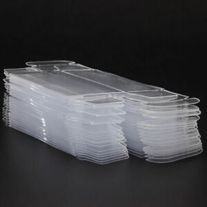 1:64 Scale Clear Case Model Show Display Box Cabinet Toy Car Figure Practical US