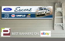 Mk 1 Ford Escort Rally Car Banner, for Workshop / Garage, Mexico etc 1300 x 320