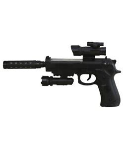 Kids Special Forces Pistol Toy Gun Lights & Sounds Boys Girls Army Role Play UK
