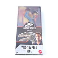 "Jurassic World Velociraptor Blue 6"" Dino Rivals Figure Raptor New Free Shipping"