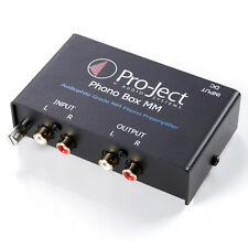 Pro-Ject Phono Box MM Phono Preamp With Line Output (Black)