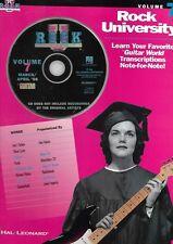 Partition+CD  guitare - Rock University - Volume 7