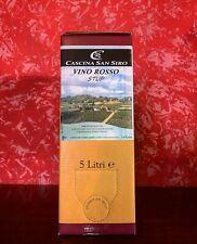 """BAG IN BOX BARBERA SUPERIORE  5lt """"vino rosso stup""""- Cascina San Siro"""