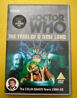 Doctor Who - The Trial Of A Time A Timelord: The Ultimate Foe DVD - Colin Baker