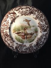 More details for spode wood duck 55/a1 made in england plate birds