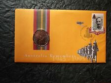 "RAM 1995 ""Australia Remembers"" ""WEARY DUNLOP"" - PNC - UNC 50 Cent Coin"