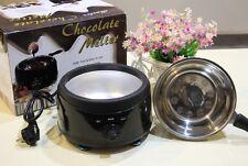 Practical Stainless Steel Chocolate Fondue Fountain Machine Melting Pot Furnace
