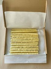 🦊 100% Raw Beeswax Candles Hand Made Set of 25 candles