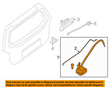 NISSAN OEM Xterra Liftgate Tail Tailgate Trunk-Release Lock Actuator 90502EA00B