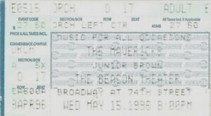 THE MAVERICKS 1996 MUSIC OF ALL OCCASIONS TOUR THE BEACON THEATRE TICKET STUB