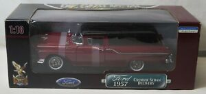 1957 Ford Courier Sedan Delivery Road Signature 1:18 Scale Die-Cast Yat Ming