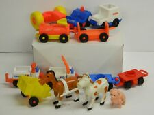 EARLY LITTLE PEOPLE ASSORTED VEHICLES and ANIMALS Look At All Pictures: